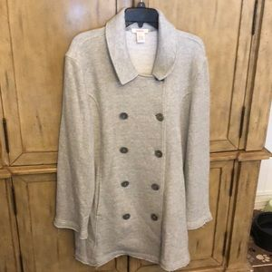 Grey Sundance jacket with pockets!!!